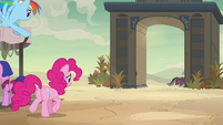 A. K. Yearling gallops out of Somnambula in shame S7E18