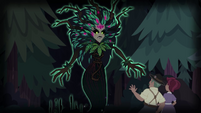 Gaea Everfree emerges from the forest EG4