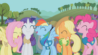 Ponies laughing S1E11