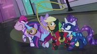 Power Ponies frozen S4E06
