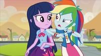 "Rainbow Dash ""as in lead singer"" EG2"