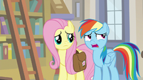 """Rainbow Dash """"we're a little late to warn you"""" S9E21"""