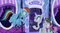 Rainbow Dash --don't touch those!-- S6E15