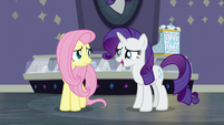 "Rarity ""some horrible Saddle Row pony"" S8E4"