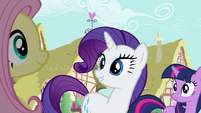 Rarity 'And zesty cucumber sandwiches' S3E3