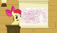 S06E04 Apple Bloom pokazuje mapę Equestrii