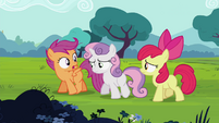 """Scootaloo """"laugh at us once"""" S4E15"""