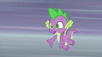 "Spike ""not going to return the book?"" S9E5"