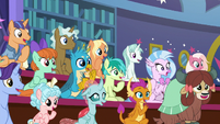 Students impressed by Rockhoof's exploits S8E21