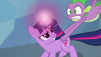Twilight 'I actually studied gravity spells' S3E2