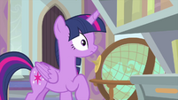 Twilight stunned by Starlight's question MLPS4
