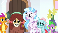 Young Six and Spike listening to Starlight S8E15