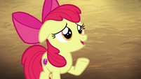 "Apple Bloom nervous ""extra?"" S6E23"