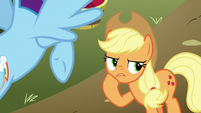 Applejack thinking for a moment S8E5