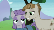 Maud and Mudbriar smiling at each other S8E3.png