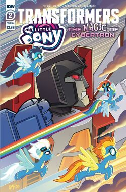 My Little Pony Transformers II issue 2 cover A version 2.jpg