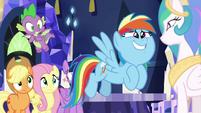 """Rainbow Dash """"than follow us around"""" S9E13"""