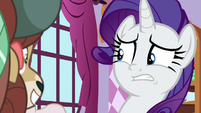 Rarity looking uncertain S9E7