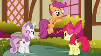 "Scootaloo ""we still have time"" S9E23"