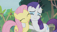 Season 8 promo image - Fluttershy and Rarity