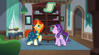 Sunburst and Starlight in their childhood home S7E24
