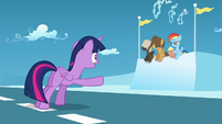 Twilight --You have to finish your race!-- S5E26