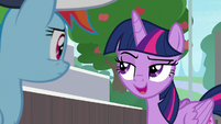 """Twilight Sparkle """"you don't have to care"""" S9E15"""