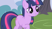 Twilight didn't quite catch that S1E01