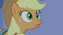 Applejack hears Twilight Sparkle's voice S9E17