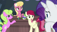 Flower trio eager to help Rarity S7E19