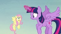 """Fluttershy """"nothing like your book said it would be"""" S5E23"""