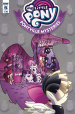Ponyville Mysteries issue 5 cover A