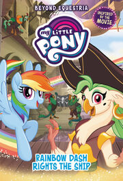 Portada de My Little Pony Rainbow Dash Rights the Ship.jpg