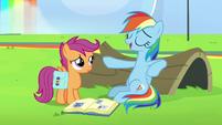 """Rainbow Dash """"I can fall asleep anywhere"""" S7E7"""