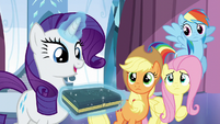 """Rarity """"choosing the crystal of purity"""" S6E1"""