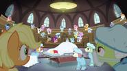 S06E23 Kucyki na sali