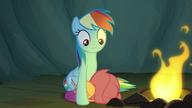 S07E16 Scootaloo kuli się przy Rainbow Dash