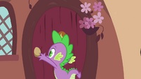 Spike about to open door S3E03