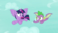 """Twilight Sparkle """"how did you get wings?!"""" S8E11"""