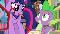 """Twilight to Spike """"and more efficient"""" S7E3"""