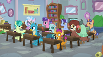 Young Six back in the classroom S8E21