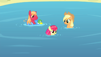 Apple Bloom -Sure wish you'd come swim with us- S4E20