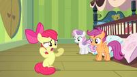 Apple Bloom -without Applejack hoverin' over me!- S4E17