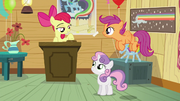 Apple Bloom calls dream meeting to order S5E4.png