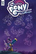Comic issue 75 cover RI