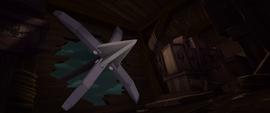 Harpoon hooks Captain Celaeno's ship MLPTM