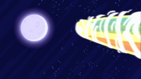 Luna being sent to the moon S4E02