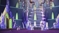 Magic pulsates around the Cutie Map S5E25