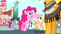 """Pinkie Pie """"what an amazing coincidence"""" S4E12"""