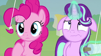 Pinkie confused; Starlight very worried MLPS4
